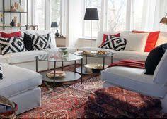 stocksund sofa nolhaga dark gray light brown wood light beige