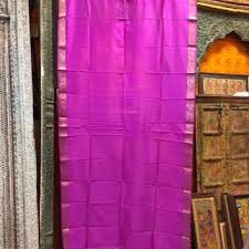Fuchsia Pink Curtains Best Silk Curtain Panels Products On Wanelo