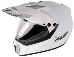 motocross style helmet nitro mx450 moto x style road helmet white poole moto
