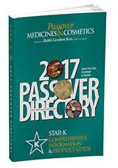 kosher toothpaste list passover k
