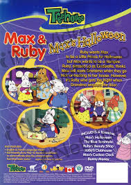 Halloween Dvd Max And Ruby Max U0027s Halloween On Dvd Movie