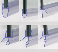 shower screen seal ebay curved bath shower screen rubber plastic seal for 4 6mm glass door enclosure