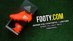 Red Solar Lights by Adidas Speed Of Light X16 1 Solar Red Leather U0026 Synthetic Unboxing