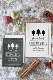 farm fresh christmas trees free printable free printable