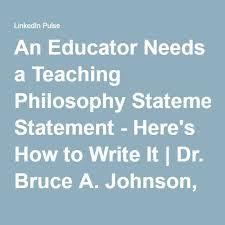 best 25 teaching philosophy statement ideas on pinterest
