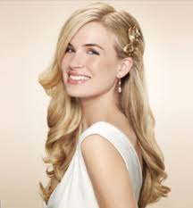 hair style for women with one side of head shaved one side clipped back wedding hair one side pulled back