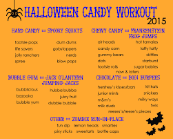 halloween candy workout family style heidi powell