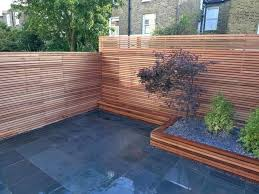 Fence Ideas For Backyard by Garden Design Small Backyard Ideas With Wooden Fence