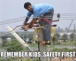 Power Lineman Memes - the working man is the tough guy by fringe meme center