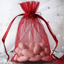 pink organza bags 10 pack 4x6 burgundy organza drawstring party favor gift pouch