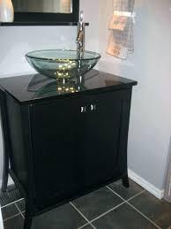 bathroom vessel sink ideas glass bathroom sinks vanities cheap glass vessel sink combo glass