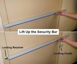 Security Bars For Patio Doors Patio Door Security Bar Lock Inswing Door Security Bars Shed Door