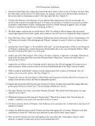 Character Sketch Essay Sample 1984 Discussion Questions