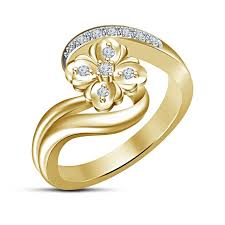 new rings images images Buy women 39 s new fancy ring 14k gold plated sterling silver rd jpg