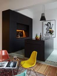 Black Modern Kitchen Cabinets by 36 Stunning Black Kitchens That Tempt You To Go Dark For Your Next