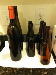 Diy Wine Bottle Vases Pieces Of Anna Diy Wine And Beer Bottle Vases