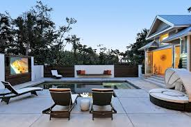 tampa landscape lighting ideas pool contemporary with retractable