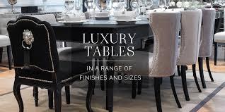 Luxury Dining Room Table Black Orchid Designer Dining Tables Luxury Idolza