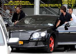 bentley miami kanye west and jonathan cheeban leave kim kardashian u0027s hotel in