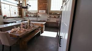 rustic and modern kitchen revealing modern kitchen scene from behind a wall a modern rustic