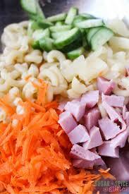 hawaiian macaroni salad sugar spice and glitter