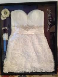 wedding dress shadow box preserve and display your wedding dress in a shadow box what a