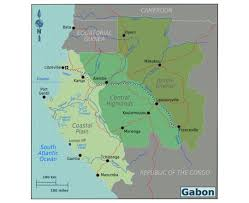 Map Of Cameroon Maps Of Gabon Detailed Map Of Gabon In English Tourist Map