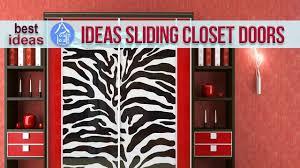 sliding closet doors design ideas and options youtube