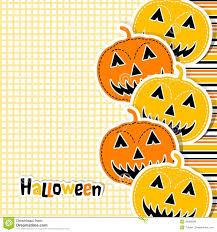 template halloween greeting card vector royalty free stock photos