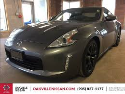 nissan 370z gun metallic new 2017 nissan 370z 2dr cpe man touring 2 door car in oakville