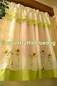 tendaggi country country the blue sartoria d interni tende country panna e verde