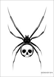 Http Www Tattoostime Com Images 500 Skull Spider Tattoo Design