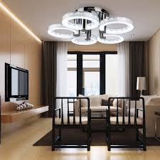 Ceiling Lighting Living Room by Gracelove European Modern Style Led Acrylic Chandeliers Ceiling