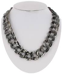 chain link necklace chunky images Usa made necklace 3133 16 f necklaces ajraefields jpg
