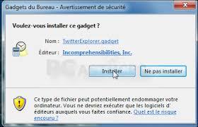 gadgets du bureau suivre sur bureau windows 7