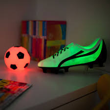 Led Bedside Lamp Football Boot Colour Changing Led Light Bedside Lamp New