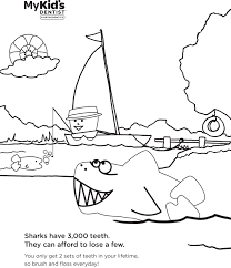 100 healthy teeth coloring pages of the sea beautiful