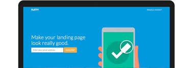 flatty app landing page