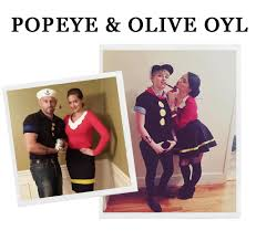 popeye halloween costumes 12 amazing last minute halloween costumes for couples snippet u0026 ink