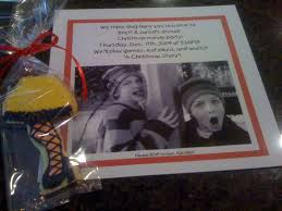 christmas cookie party invitations a christmas story