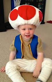 Toad Halloween Costume Krazy Kingdom October 2012