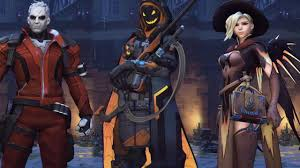 overwatch every halloween costume highlight intro and r i p