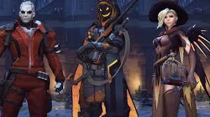 Halloween Costumes Origin Overwatch Every Halloween Costume Highlight Intro And R I P