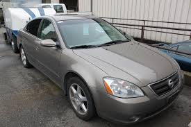 nissan grey 2003 grey nissan altima 4dr sedan