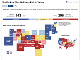 Romney Obama Map The Electoral Map Building A Path To Victory The Interactive News