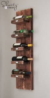Diy Wood Squat Rack Plans by 25 Best Diy Wine Racks Ideas On Pinterest Wine Rack Inspiration