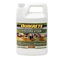 shop quikrete gallon coffee etching concrete stain at lowes com