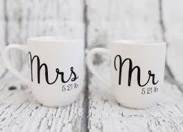 Personalized Mugs For Wedding Best 25 Custom Wedding Gifts Ideas On Pinterest Monogram