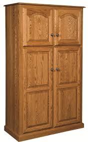 oak kitchen pantry cabinet farmhouse kitchen with free standing oak wood kitchen pantry