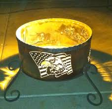 Custom Fire Pit by Custom Fire Pits Personalized Firepits By Native Designs